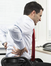 Back pain in the workplace