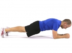 Plank exercise, lower back pain, core exercise, sports injuries, rehabilitation, prehab