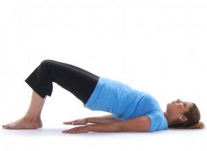 Shoulder Bridge, lower back exercise, back pain