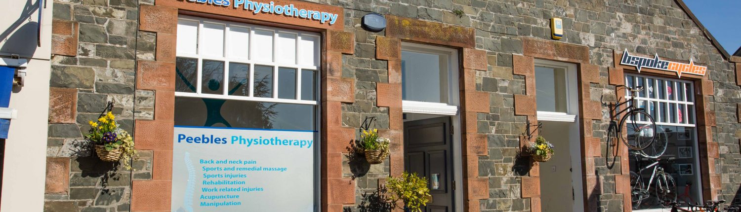 Peebles Physiotherapy Clinic, sports injuries, work-related injuries, occupational health